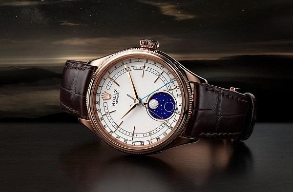 """Moonphase được nhắc tới như """"viên ngọc sáng giá"""" của bộ sưu tập Rolex Cellini"""